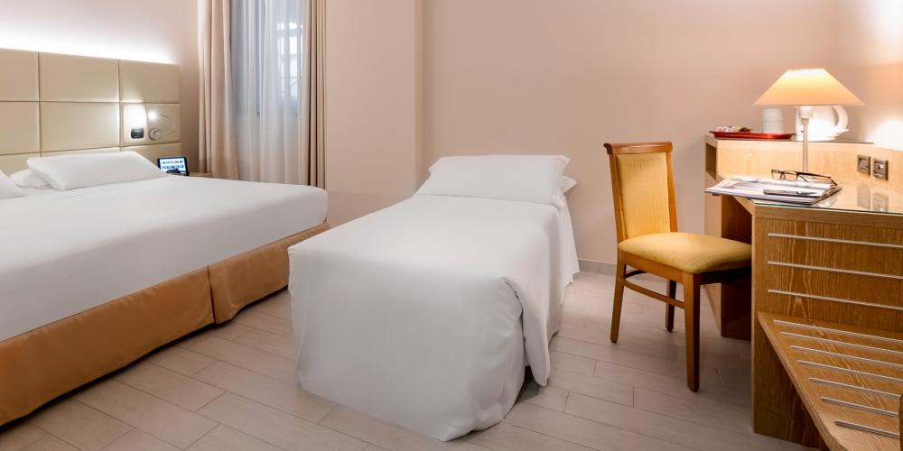 Hotel con camere triple vicino Aeroporto di Malpensa